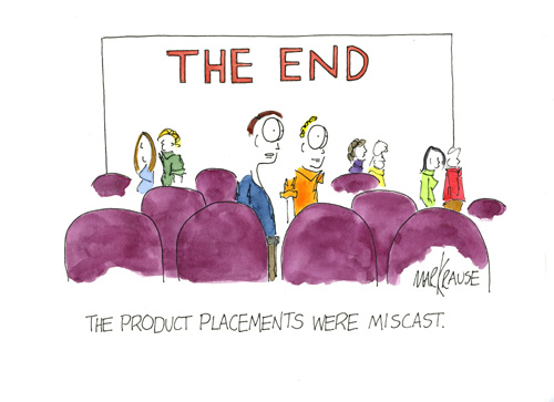 The product placements EC