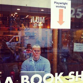 Rolo_at_Drama_Book_Shop