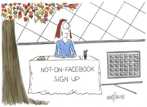 Not On Facebook EC